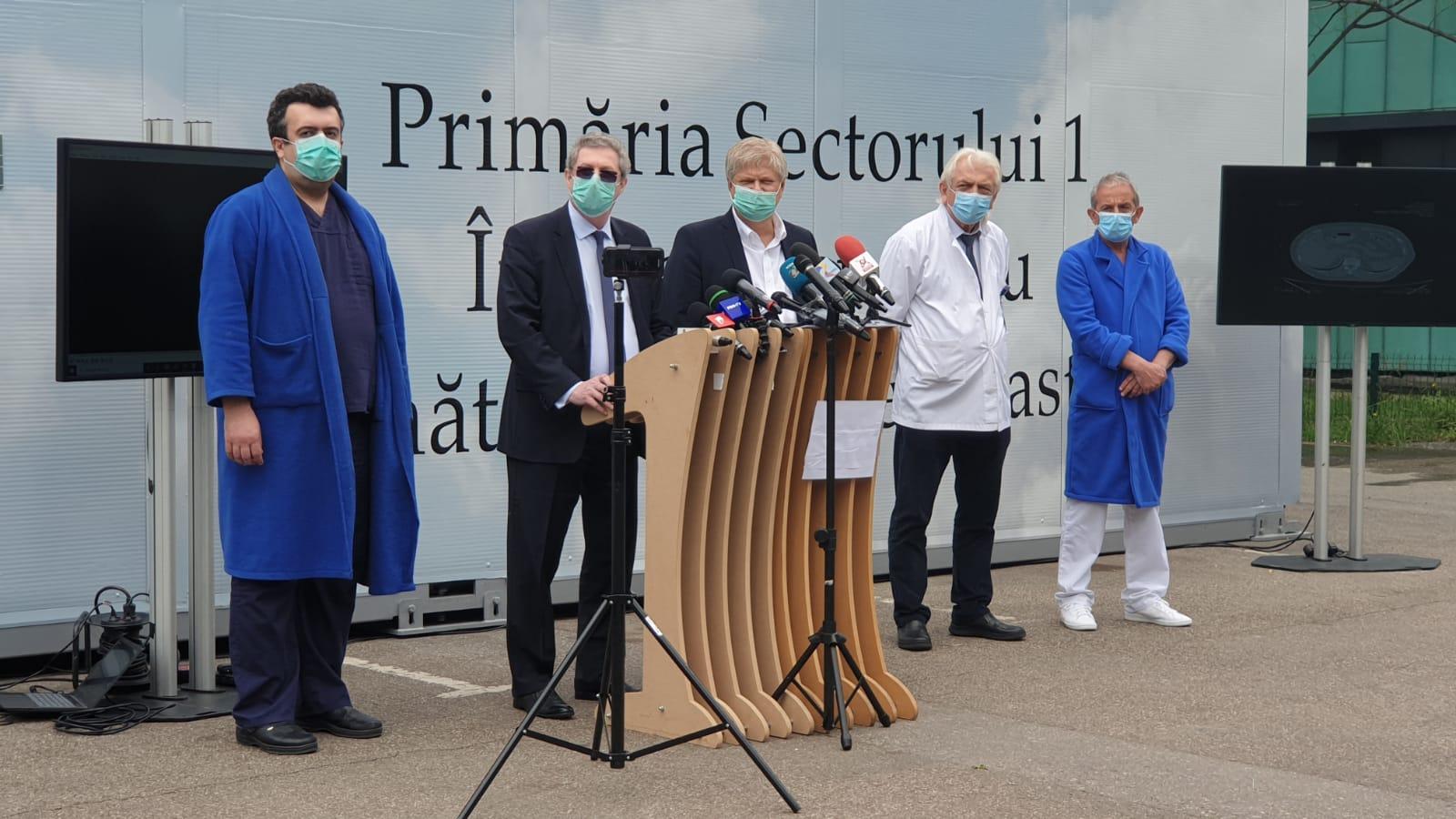 Premieră în România: Computer tomograf de ultimă generație pentru depistarea infectării cu COVID-19