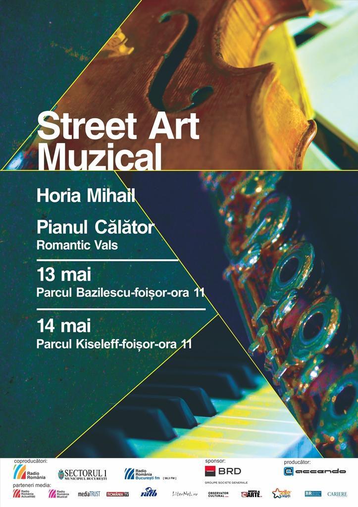 Regal de muzică clasică în Parcurile Bazilescu și Kiseleff