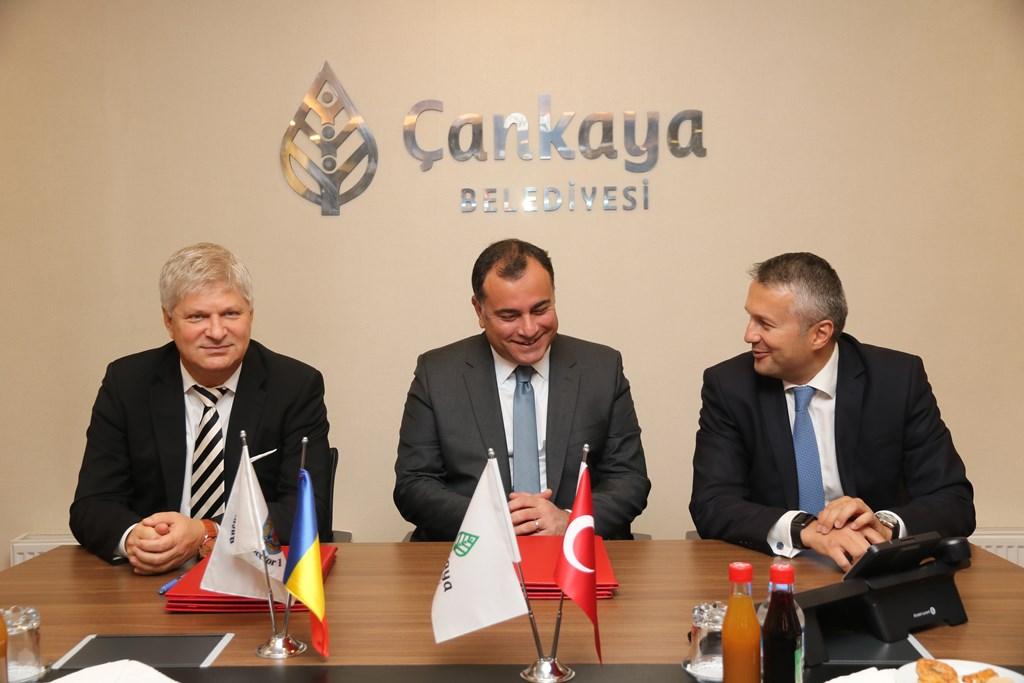 """""""Înfrățire"""" între Sectorul 1 și Sectorul Ҫankaya (Ceankaya) din Ankara"""