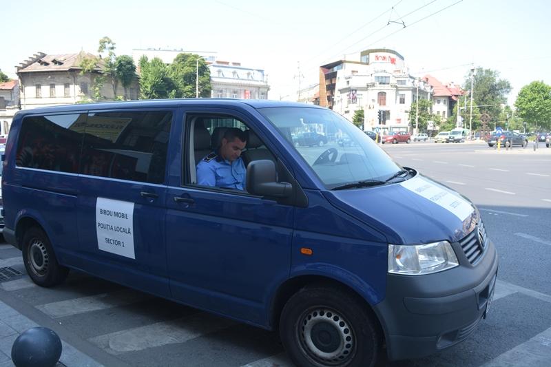 Biroul mobil al Poliției Locale Sector 1 vine la tine în cartier