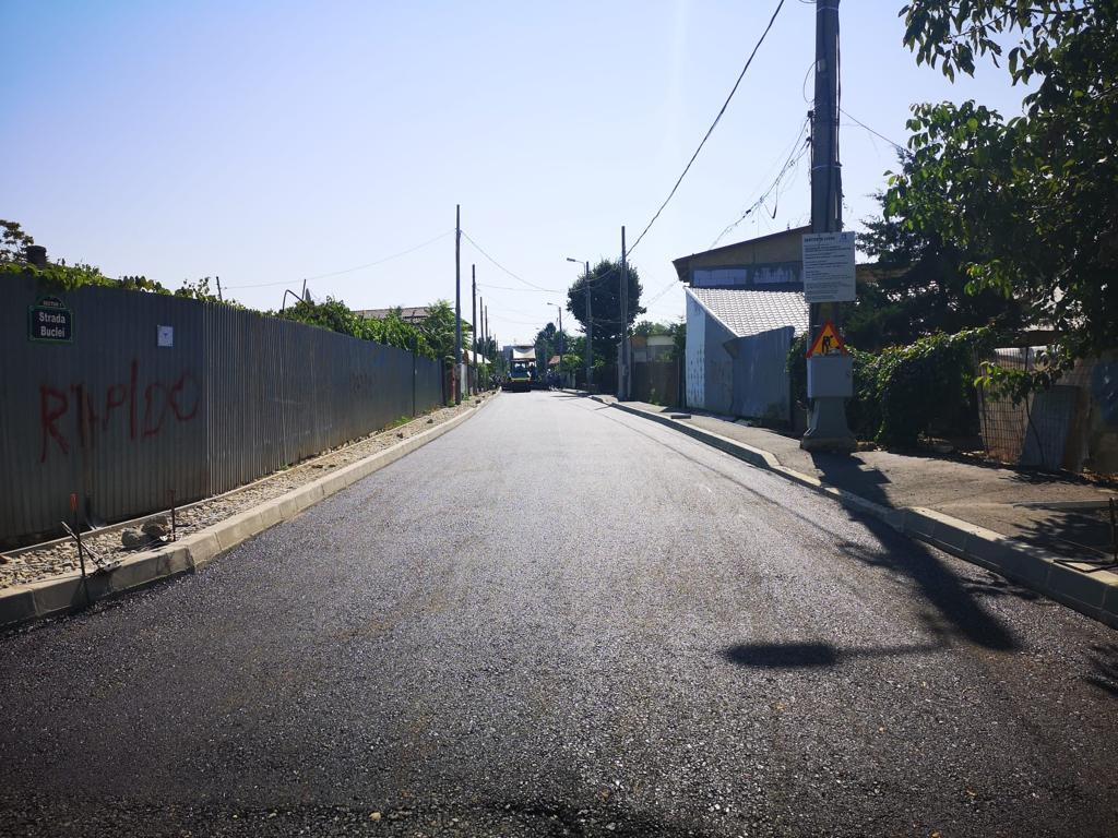 Continuăm să asfaltăm străzile de pâmânt din Chitila Triaj
