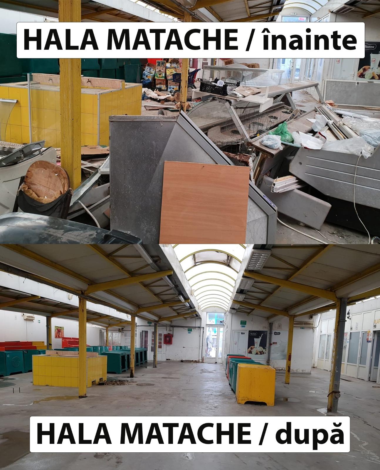 Curățenie generală în piețele din Sectorul 1