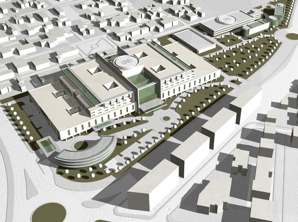 """Comisia de Urbanism a PMB a avizat favorabil PUZ-ul necesar construirii Spitalului """"Sfântul Vasile cel Mare"""""""