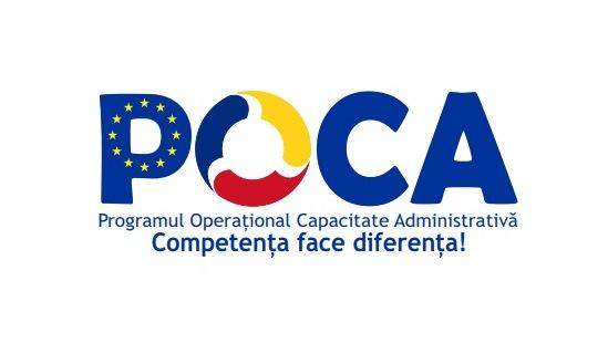 ANUNȚ - Lansare proiect POCA - cod MySMIS 128335, cod SIPOCA 634
