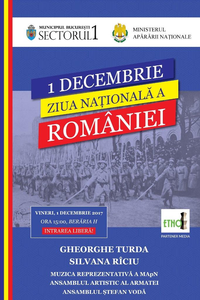 Sărbătorește Marea Unire cu joc și muzică tradițională românească