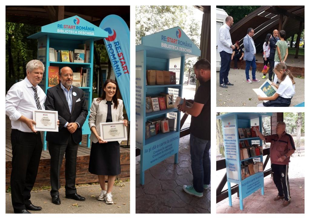 Veste bună pentru iubitorii de carte din Sectorul 1! Am deschis mini-biblioteci urbane în Parcul Kiseleff și în Parcul Bazilescu!