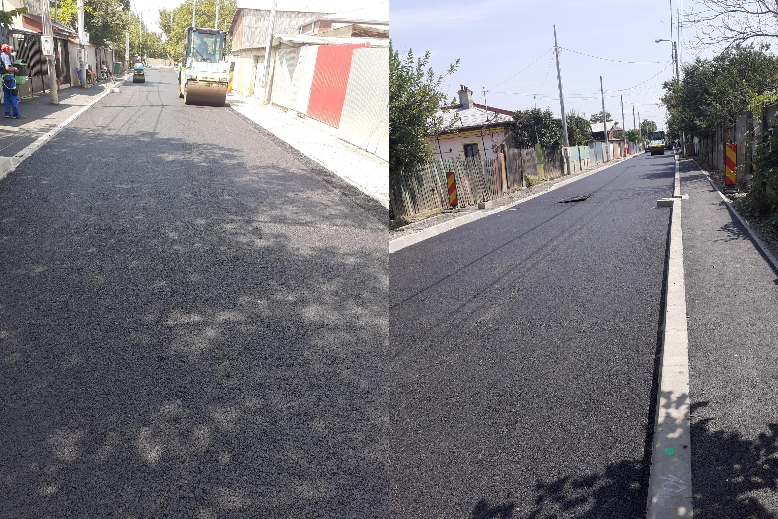 Asfaltăm străzile de pământ din cartierul Chitila Triaj